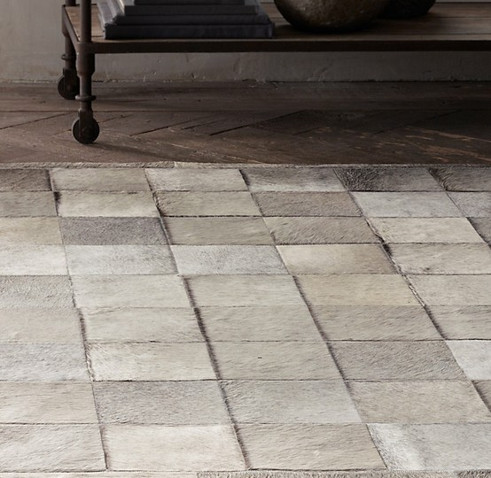Inspired Flooring Cowhide Patchwork Rugs The Ace Of