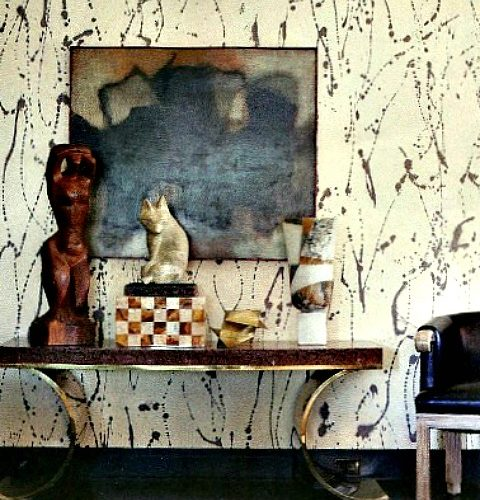 The Artful Home :: Paint Spatters