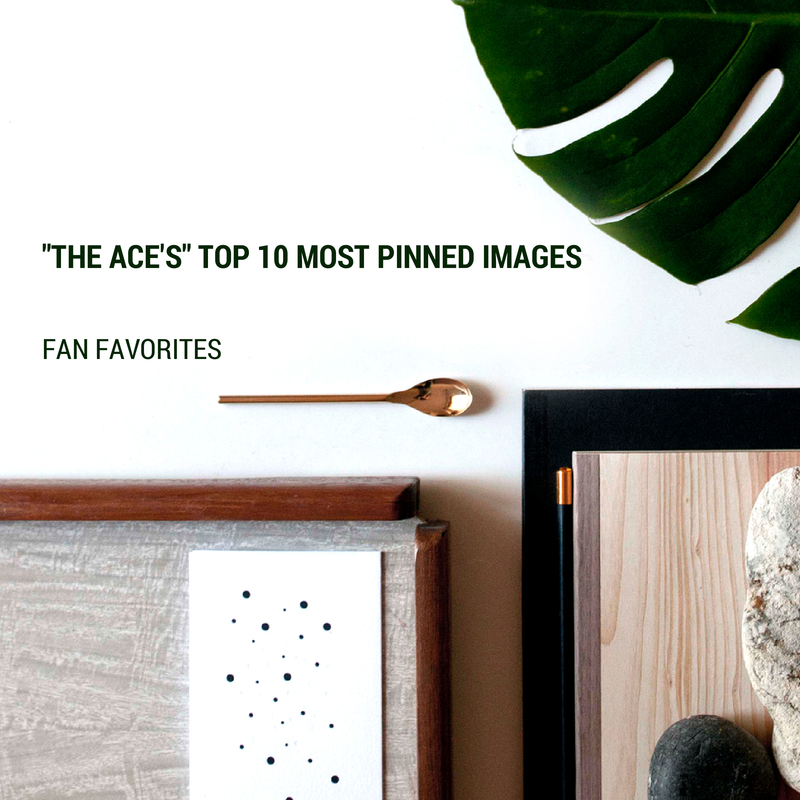 The Ace's Top 10 Most Pinned Images