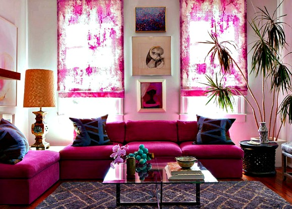 My Favorite Pink AND Red Rooms