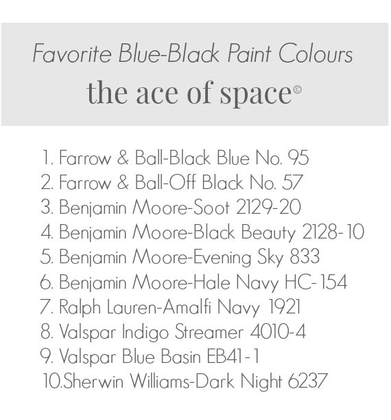 favoriteblueblackpaintcolor