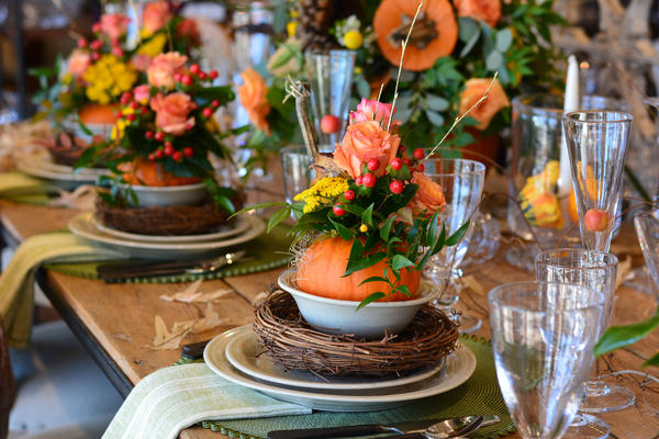 Simon Pearce ::The Inspired Fall Table