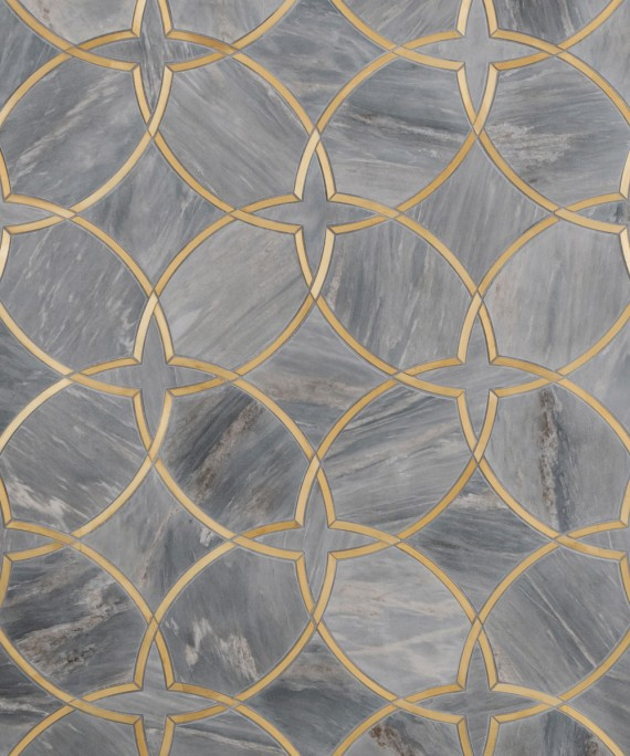 Marble Inlay Floor Gold : Looks to love gold grout insets the ace of space
