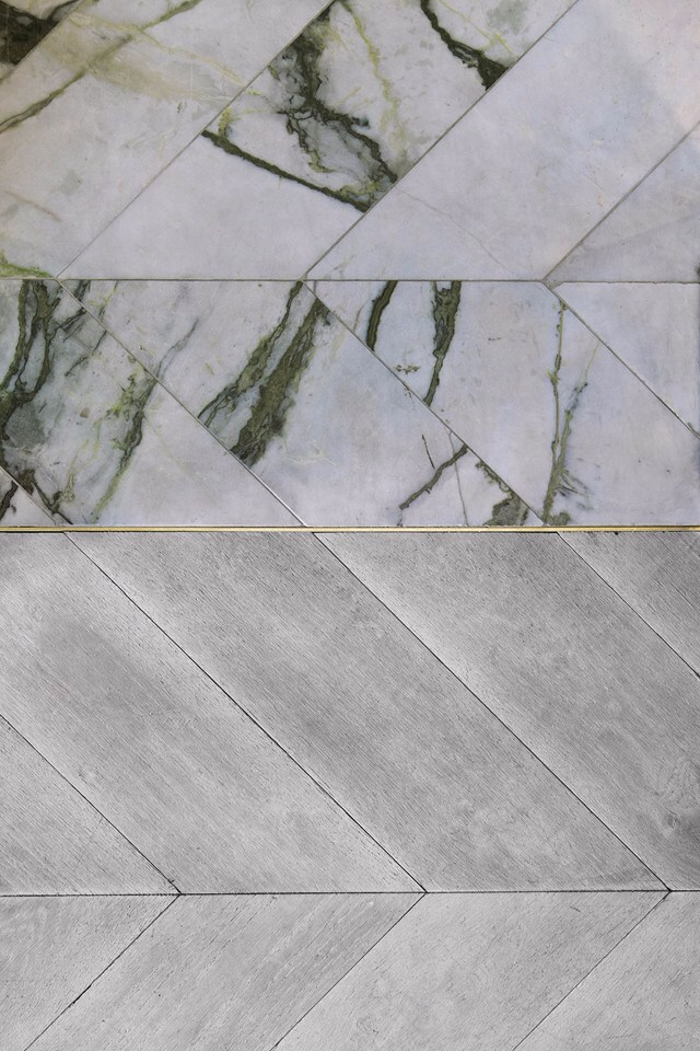 Inlaid Marble Floor Patterns : Looks to love gold grout insets the ace of space