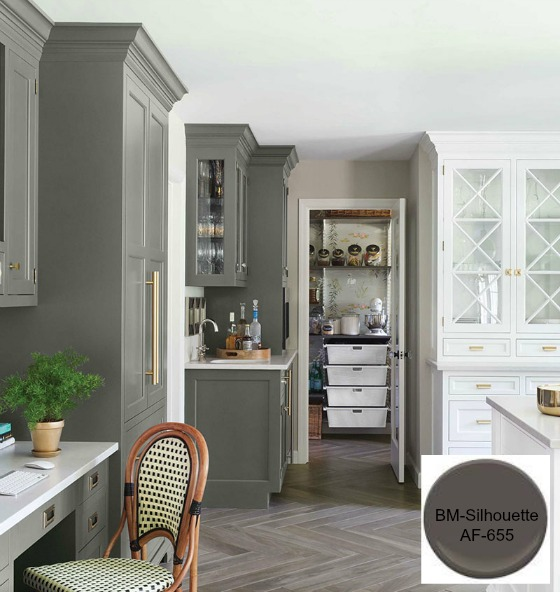 Paint Colors With Cult Followings 10 Picks From The: Our Picks:: 10 Timeless Grays For The Kitchen