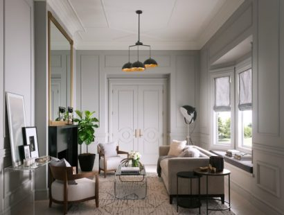 "How to Create Your Own ""Room Story"" With Moldings"