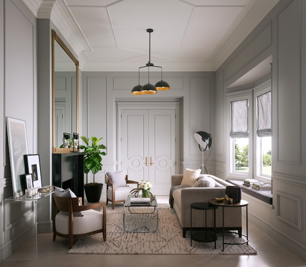 How to create your own room story with moldings the - Create your own room ...