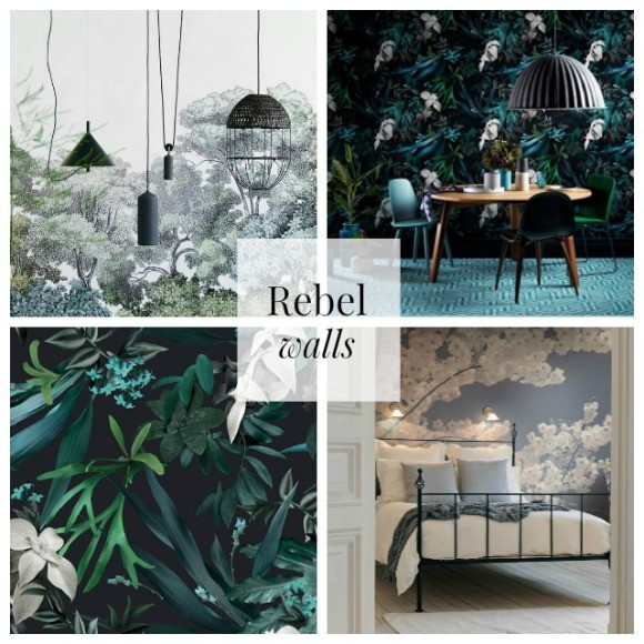 Rebel Wallscollage