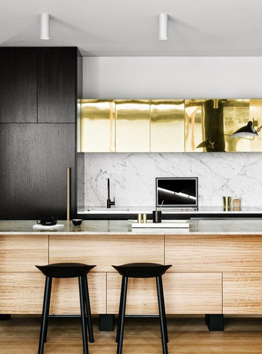 One Kitchen Trend We Love Mixedmaterials Kitchentrends