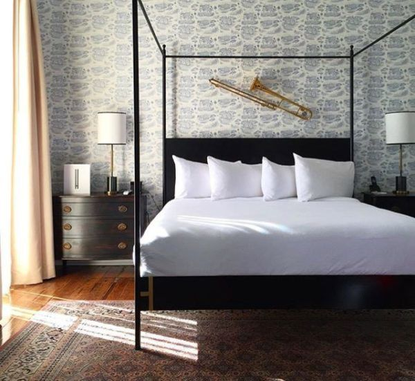 The Henry Howard Hotel in New Orleans. #boutiquehotels #neworleans #canopybeds #traditionalbedrooms