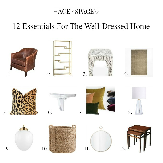 12 Essentials For the Well-Dressed Home, #home #essentials #homedecor